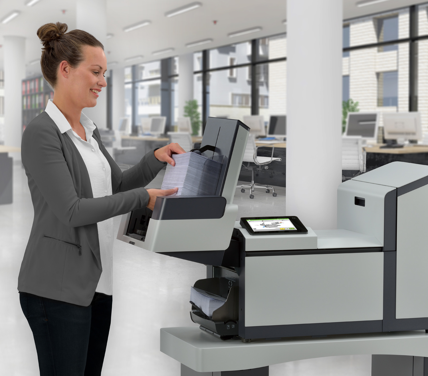 PRINTING & HANDLING SOLUTIONS - ✓Desktop & Multi-Function Printers✓Variable Data Printers✓Business-Class Document Management✓Paper Folding & Inserting✓Letter Openers✓Paper Shredders & Joggers