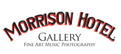 On Tour with Leonard Cohen, photographs by Sharon Robinson     Grammy-winning songwriter, and longtime Leonard Cohen creative collaborator, Sharon Robinson will exhibit innovative and intimate musical journey photo collection of Cohen at Morrison Hotel Gallery.