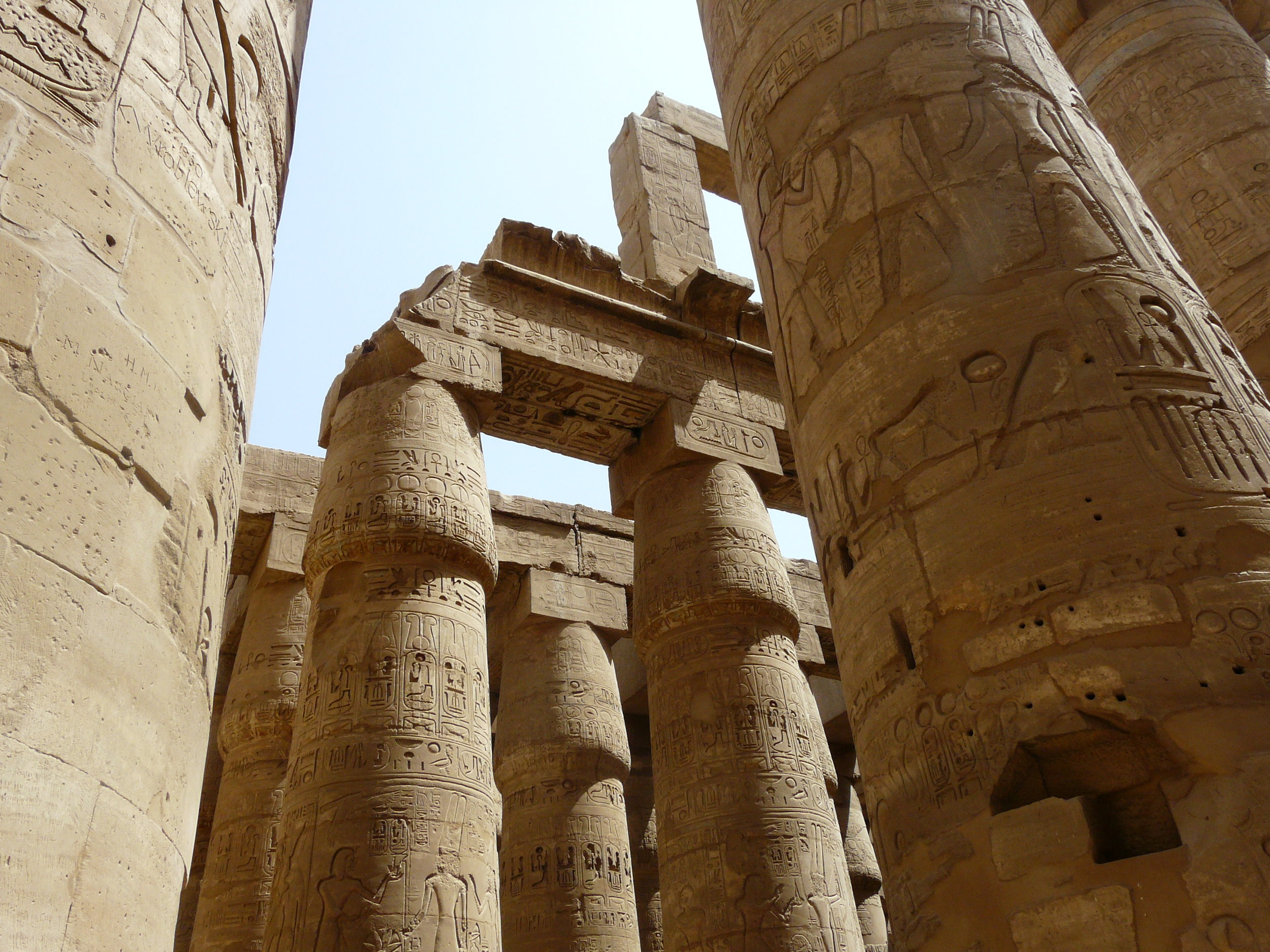 The Karnak Temple Complex in Luxor, Egypt  (Photo: Kurohito)