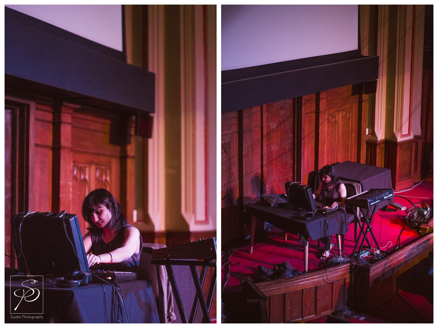 Sarah Davachi playing Central United Church at Sled Island 2014
