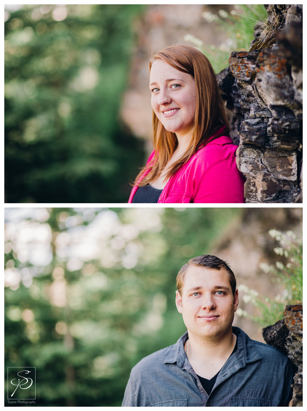 Individual portraits of a Couple in Candmore