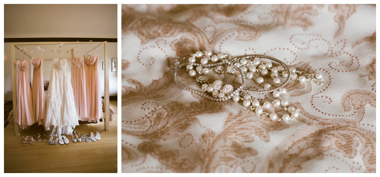 Bridal jewellery and dresses at VIctorian Inn
