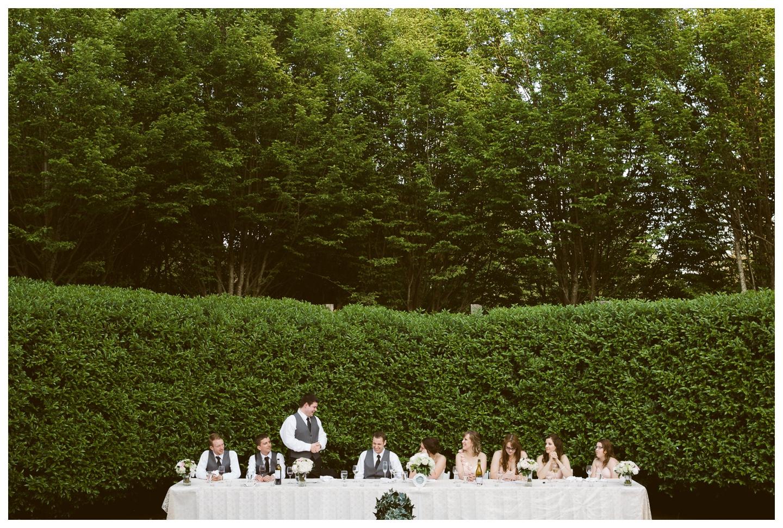 Best man speech garden wedding