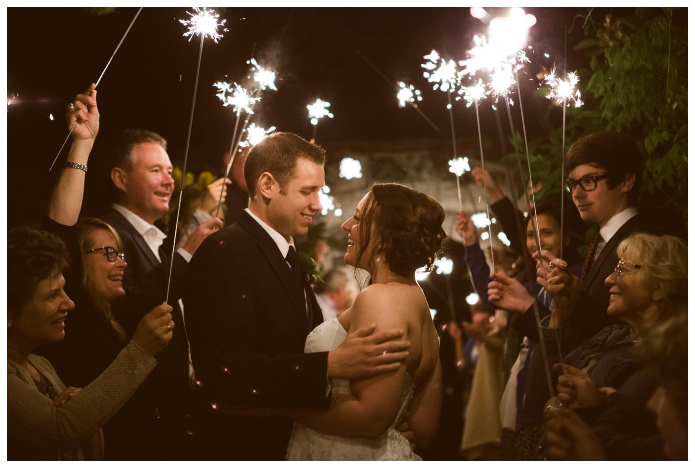 Wedding Sparkler photos English Inn Victoria