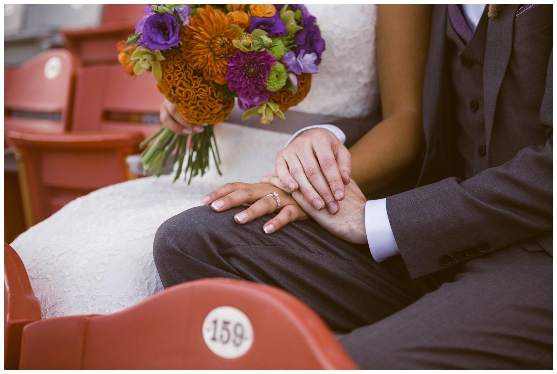 Calgary Stampede wedding photos