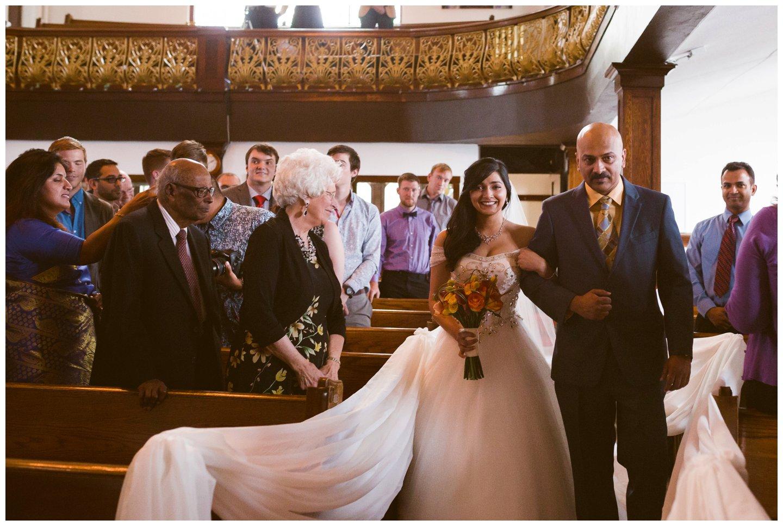 Traditional Calgary Church Wedding