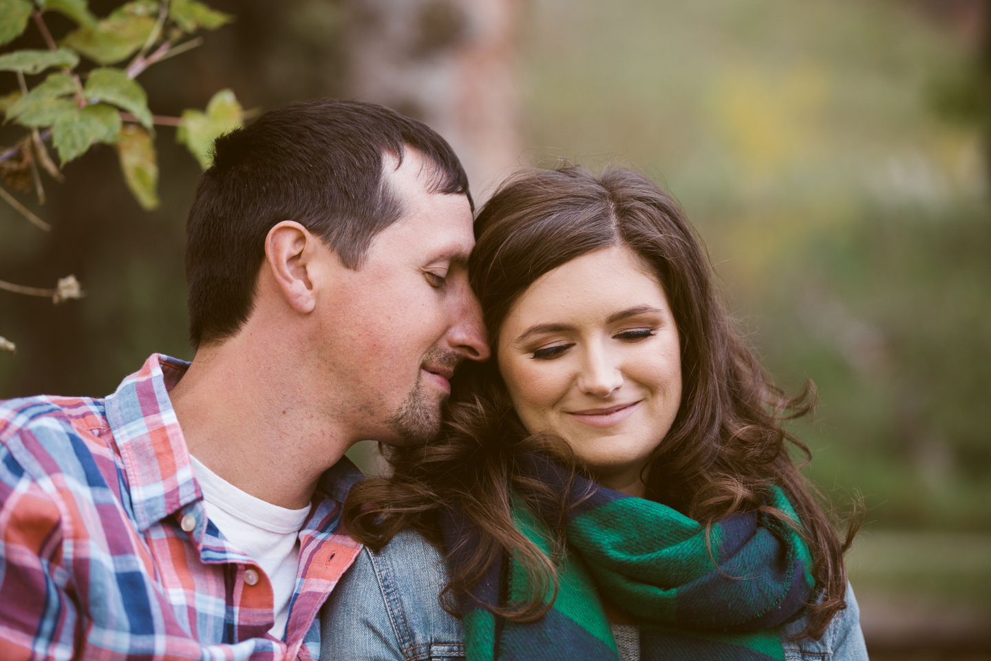 Engagement photos fish creek