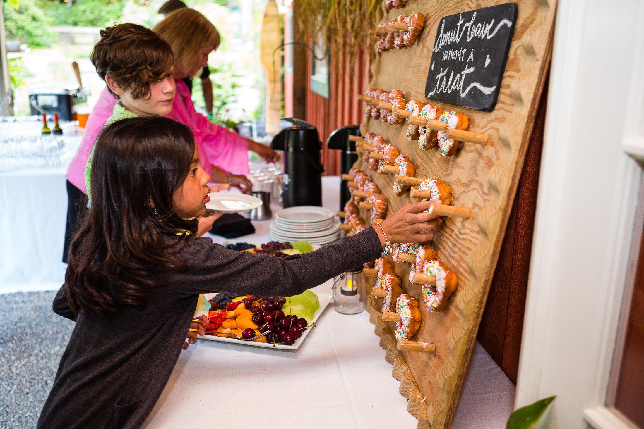 wedding cake wall tofino botanical gardens
