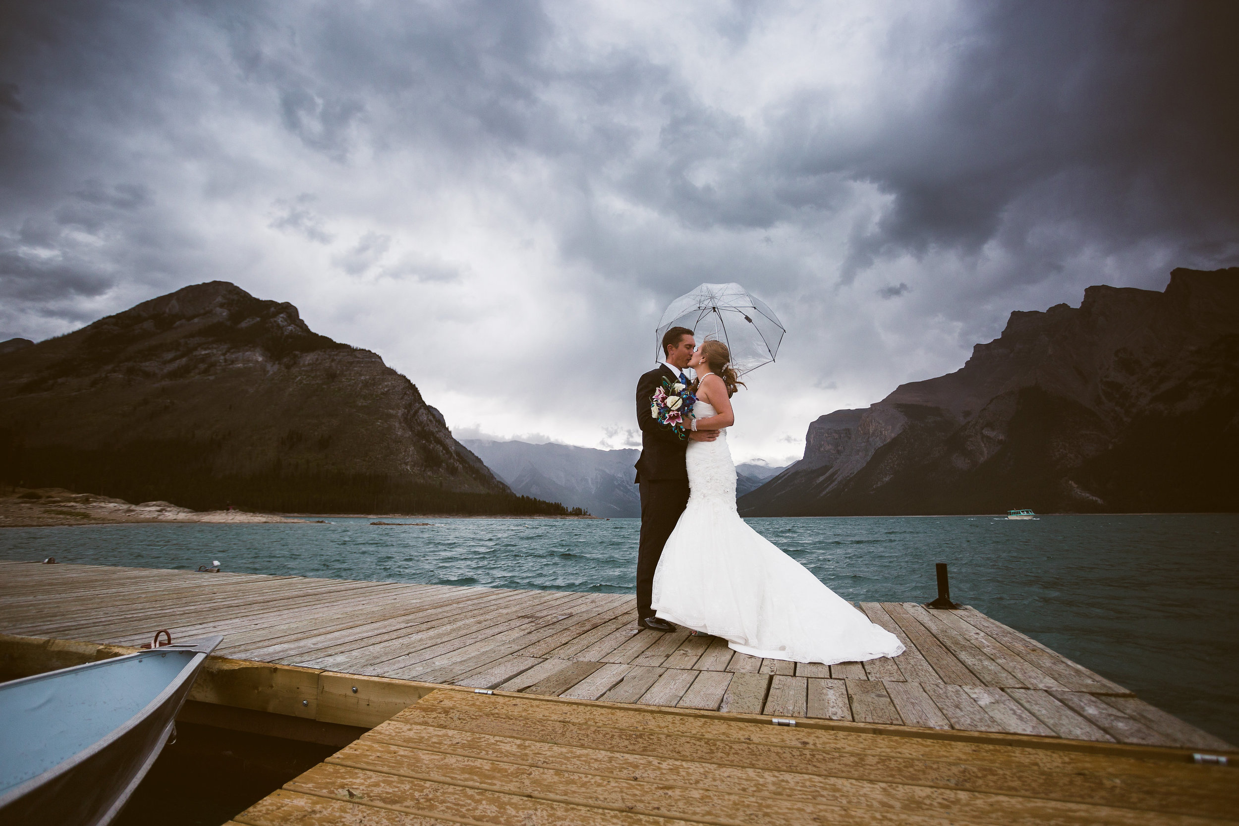 Banff wedding portraits