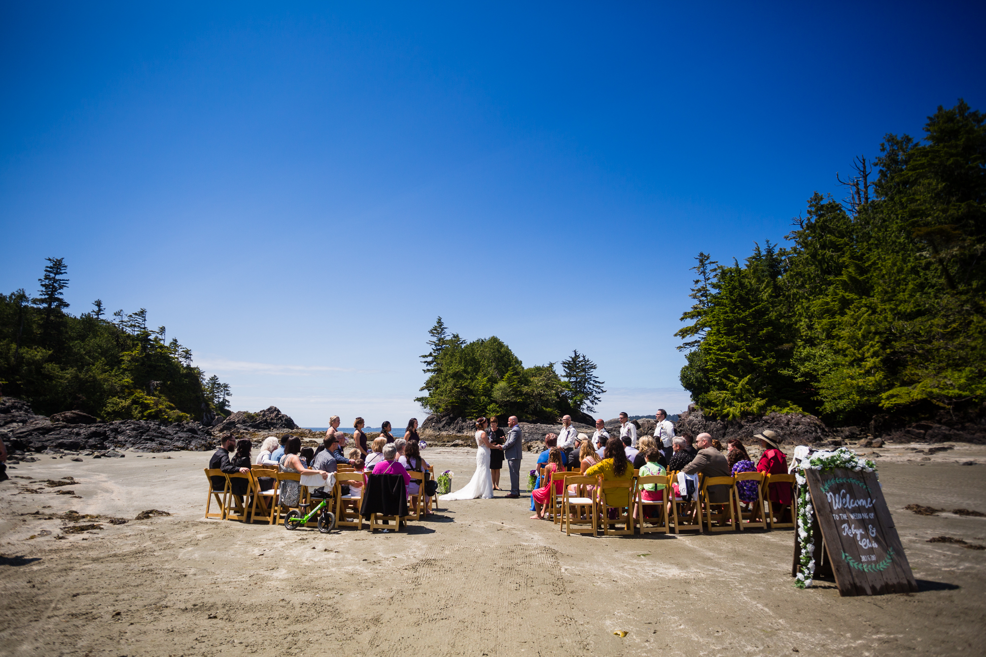 Crystal Cove Beach resort wedding