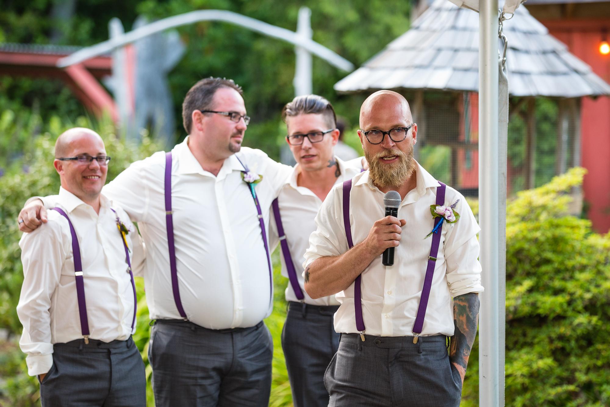 wedding speech groomsmen