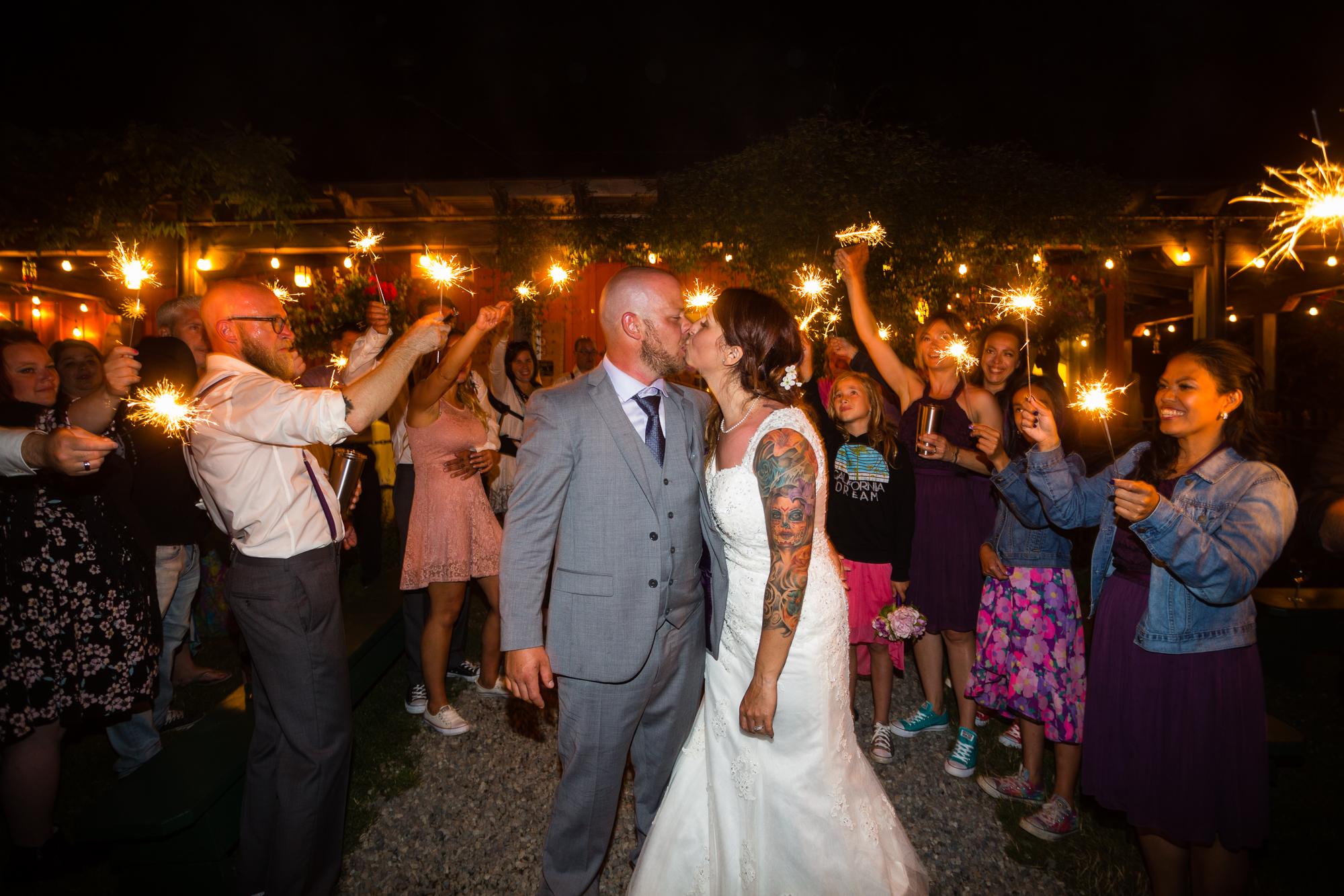 sparklet exit wedding tofino