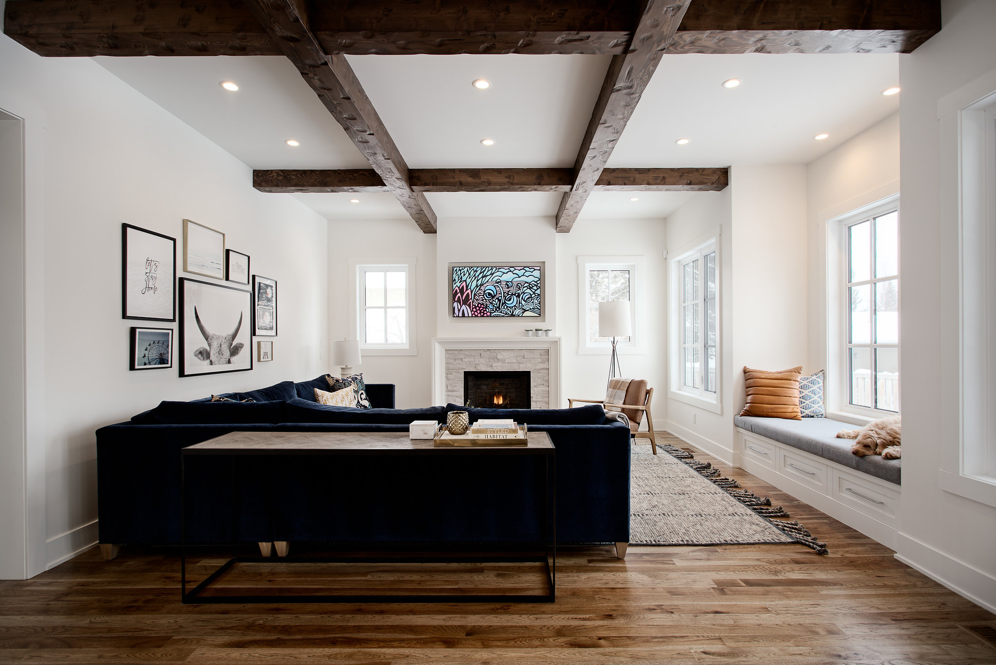 Living Spaces -