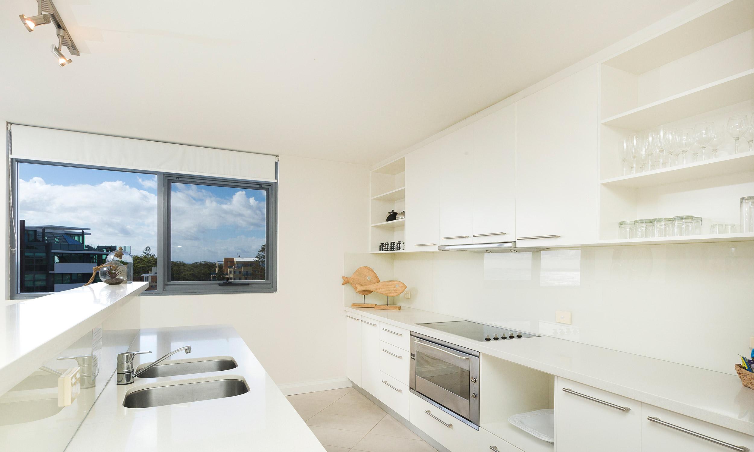 Spacious Penthouse Kitchen