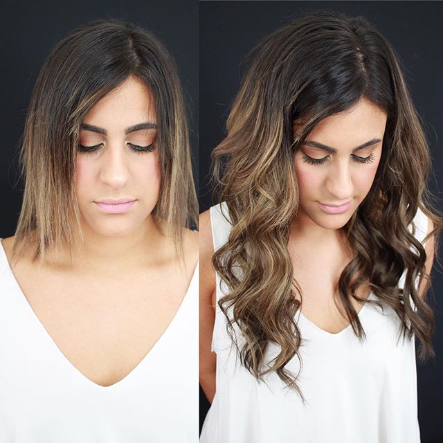 This transformation was so rewarding! This beautiful girl has very fine natural hair. When she came to me she was at a loss because her hair was breaking off. She had been lightened too agressively and her hair was too fragile. Once the breakage began she was desperate and willing to try anything. When her stylist recommended tape in extensions to fill it in she decided to give it a shot. Unfortunately, the tapes only added to the problem. . . . I was so happy when she contacted me so we could get her hair back on the road to recovery. We gently toned down her lighter pieces, did an olaplex treatment, and added length and volume with two rows of @naturalbeadedrowsextensions ... . . . Now her natural hair can rest and grow while the NBR extensions give her the hair she's always wanted! . . . Are you suffering from breakage? Thinning? I'd love to chat and show you how NBR can be the solution. Click the link in my bio to apply! . . .  #nbr #naturalbeadedrows #beaded #rows #beadedrows #hair #hairextensions #extensions #wefts #handtiedwefts #kansascitynbr #makeover #beforeandafter #hairgoals #beautiful #modernsalon #btcpics #kansas #kansashair #kansassalon #kansascity #kc #kchairstylist #kcsalon #igkcmo #missouri #hairsalon #hairstylist #hairtrends #hairenvy