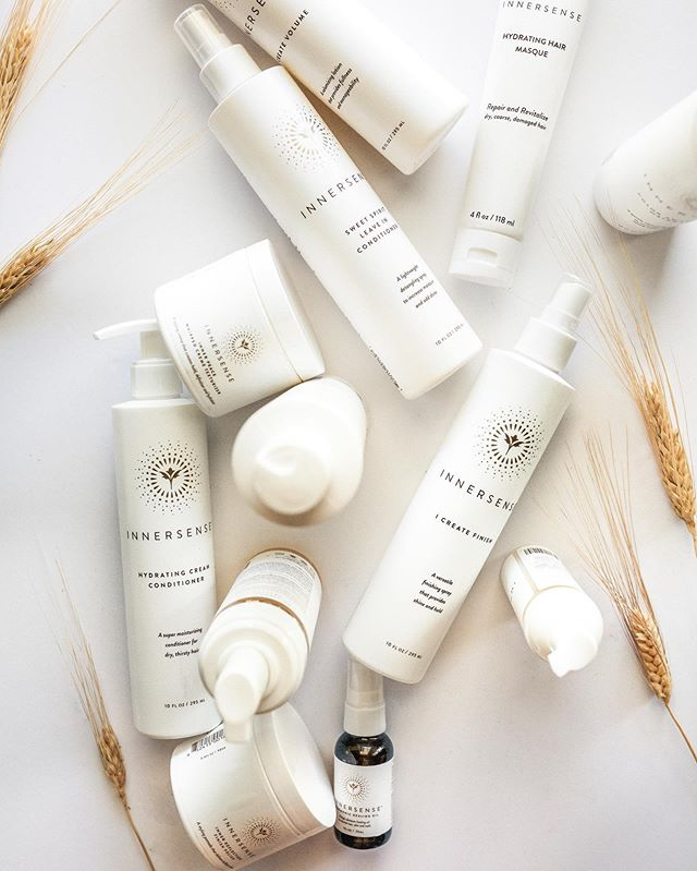 We are so excited to have brought @innersenseorganicbeauty into the salon! This organic line is luxurious & heals your hair from the inside. We have fallen in love with this line and know you will too!