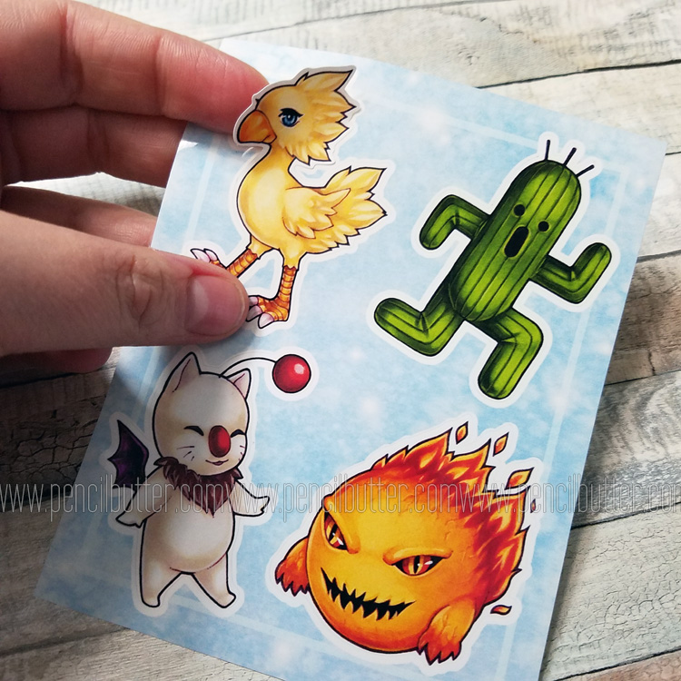 VINYL STICKER SHEET