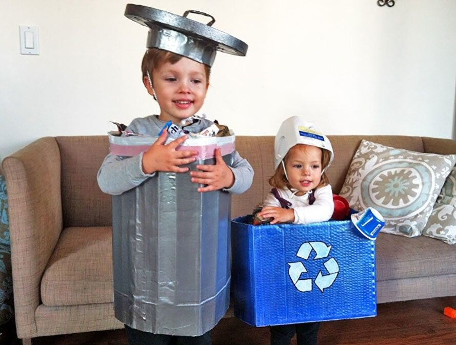 I love these costumes from  inhabitat
