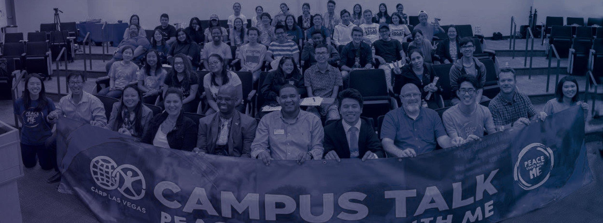 1st campus talk - Fall 2017