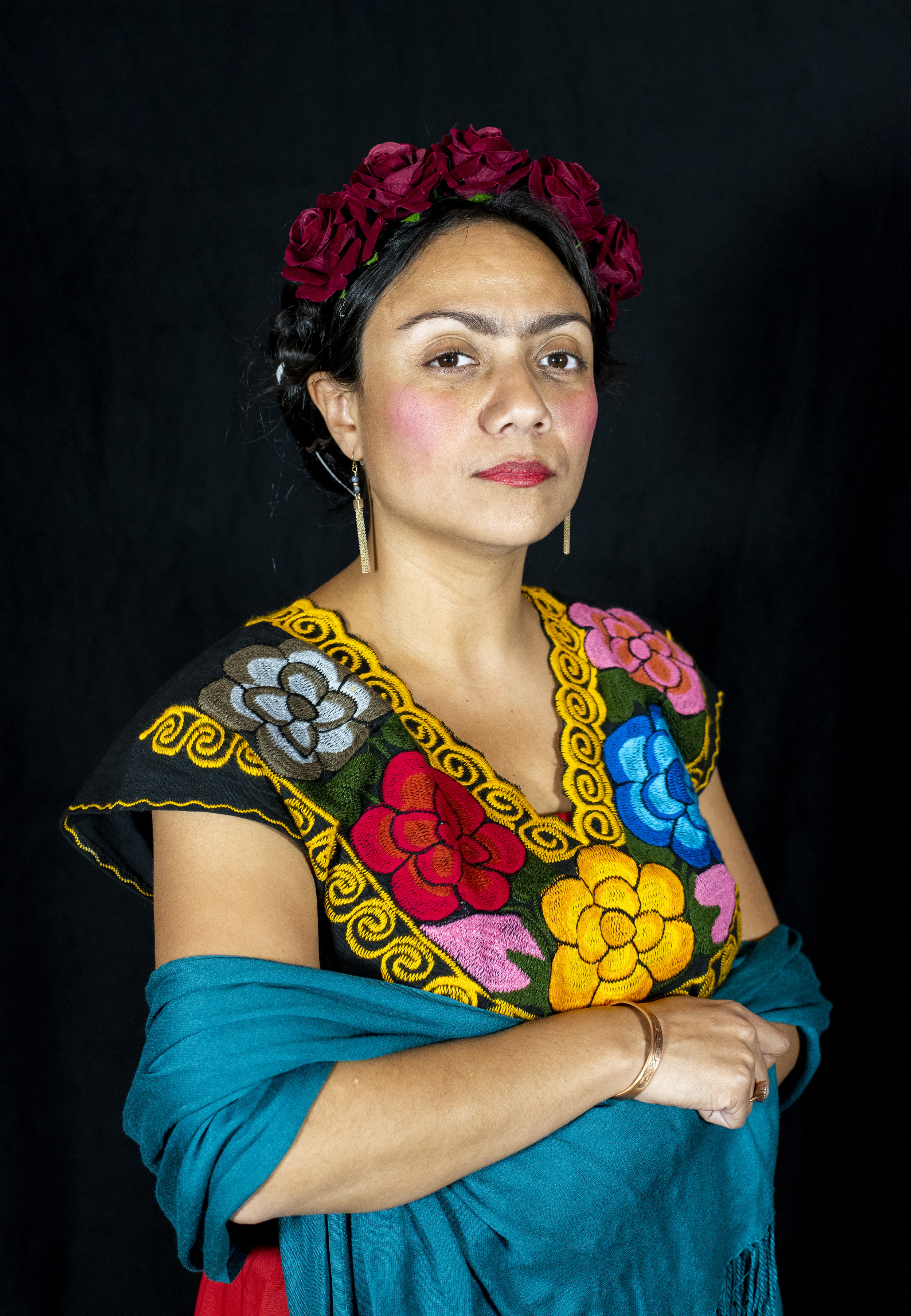Frida Portrait by ZShare Photovisions