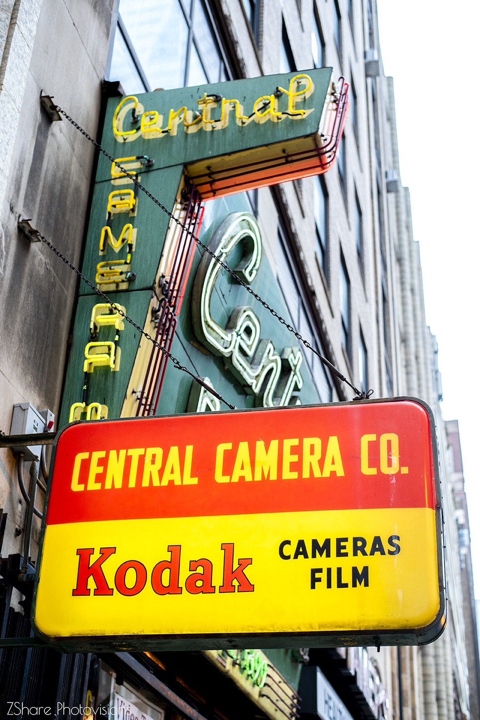 Central Camera Chicago by Zach Share ZShare Photovisions