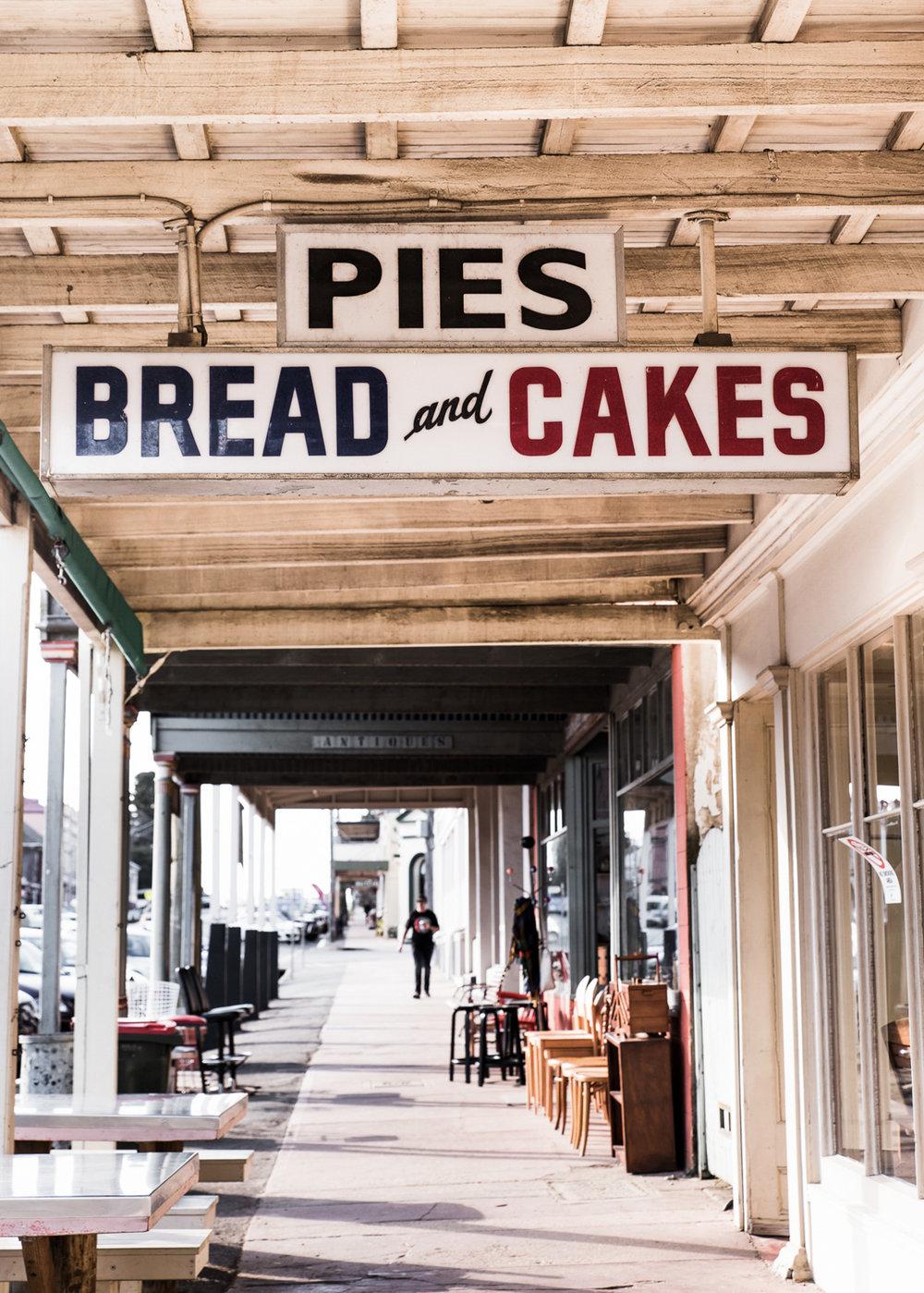 Mona Farm Braidwood Town Bakery Regional NSW