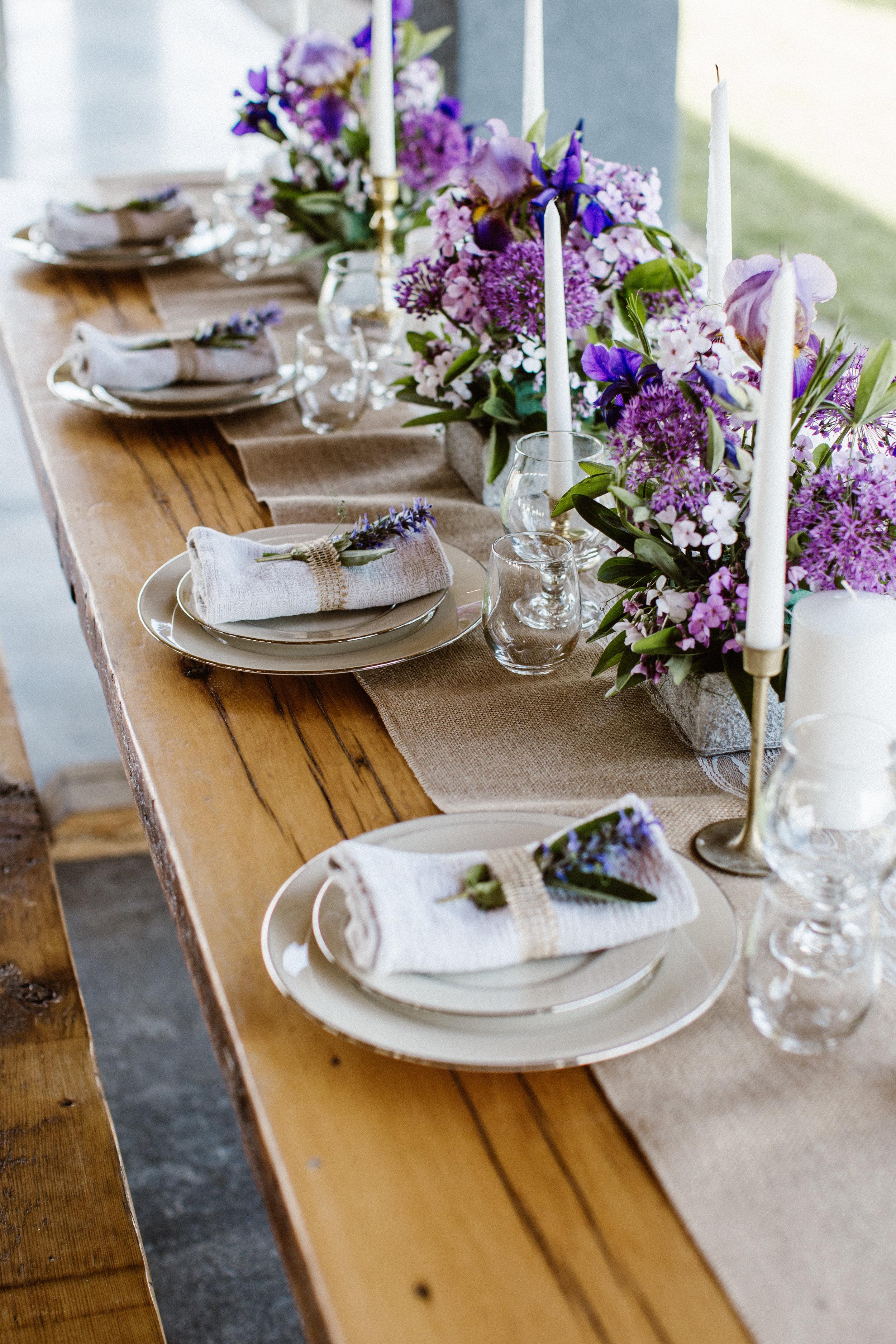 Wedding tables cape