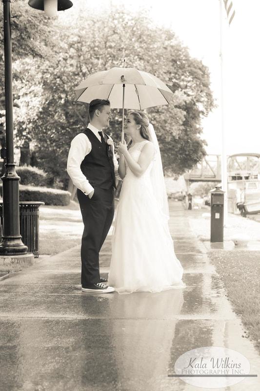 Rochester Wedding Bride & Groom