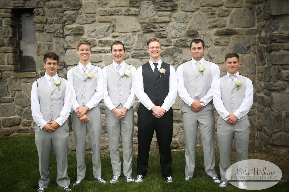 Groom & groomsmen