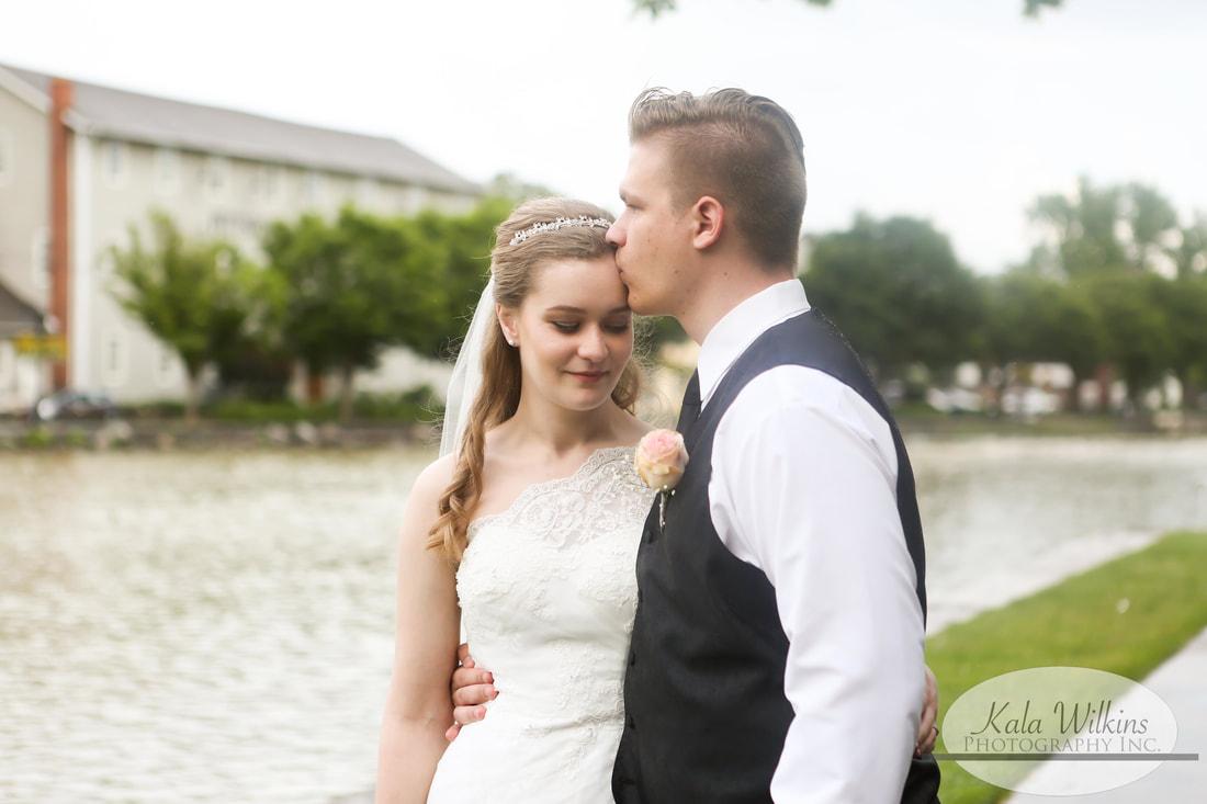 rochester wedding portrait