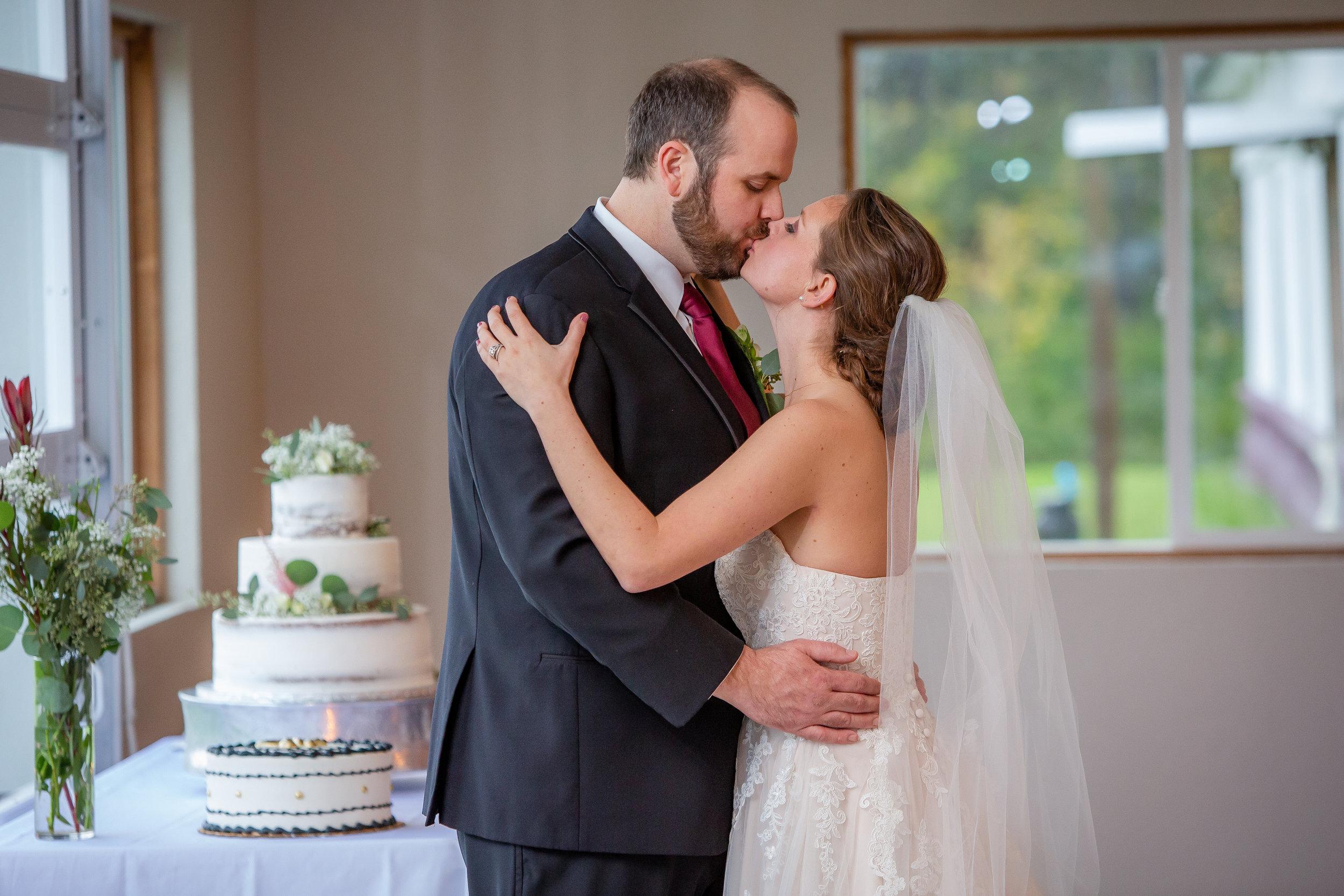 Bride & Groom-Owasco Lake Wedding