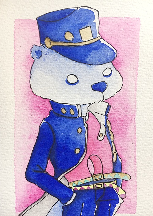 """JoOtterro  The words given to me were """"Otter"""" and """"Jojo.""""  August 2017"""