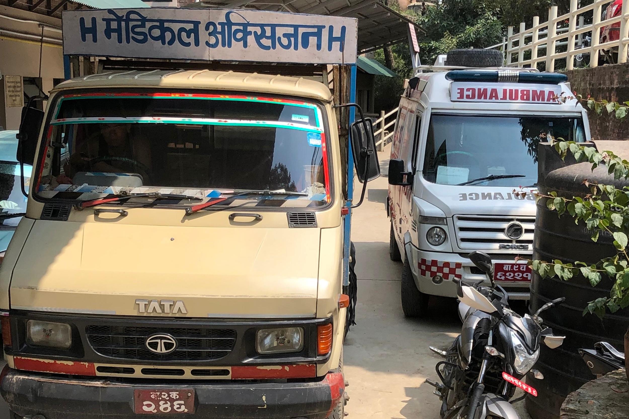 Ambulances at NCBC