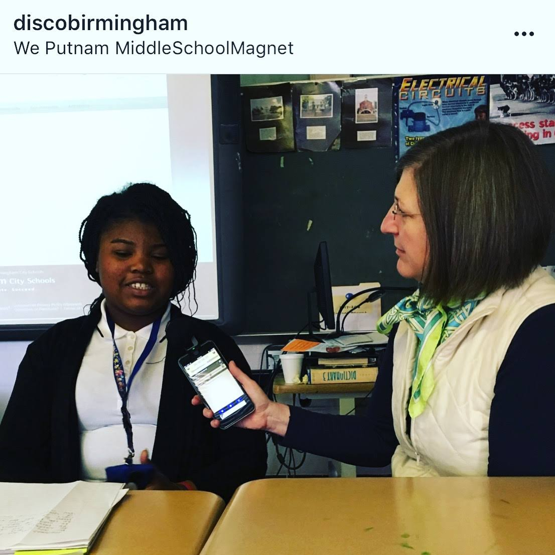 Interview with an All-Star Middle School Poet at Putnam Middle School
