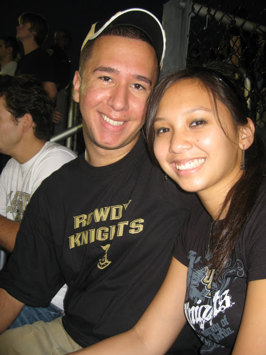UCF Graduates - As the relationship grew stronger, both understood education was the blueprint to their future. An artistic and blue-sky creative thinker continued to fall in love with the analytical and forward thinking problem solver. Sarah graduated with a degree in Computer Engineering as Chris graduated with a degree in Digital Media from the University of Central Florida. Go Knights!
