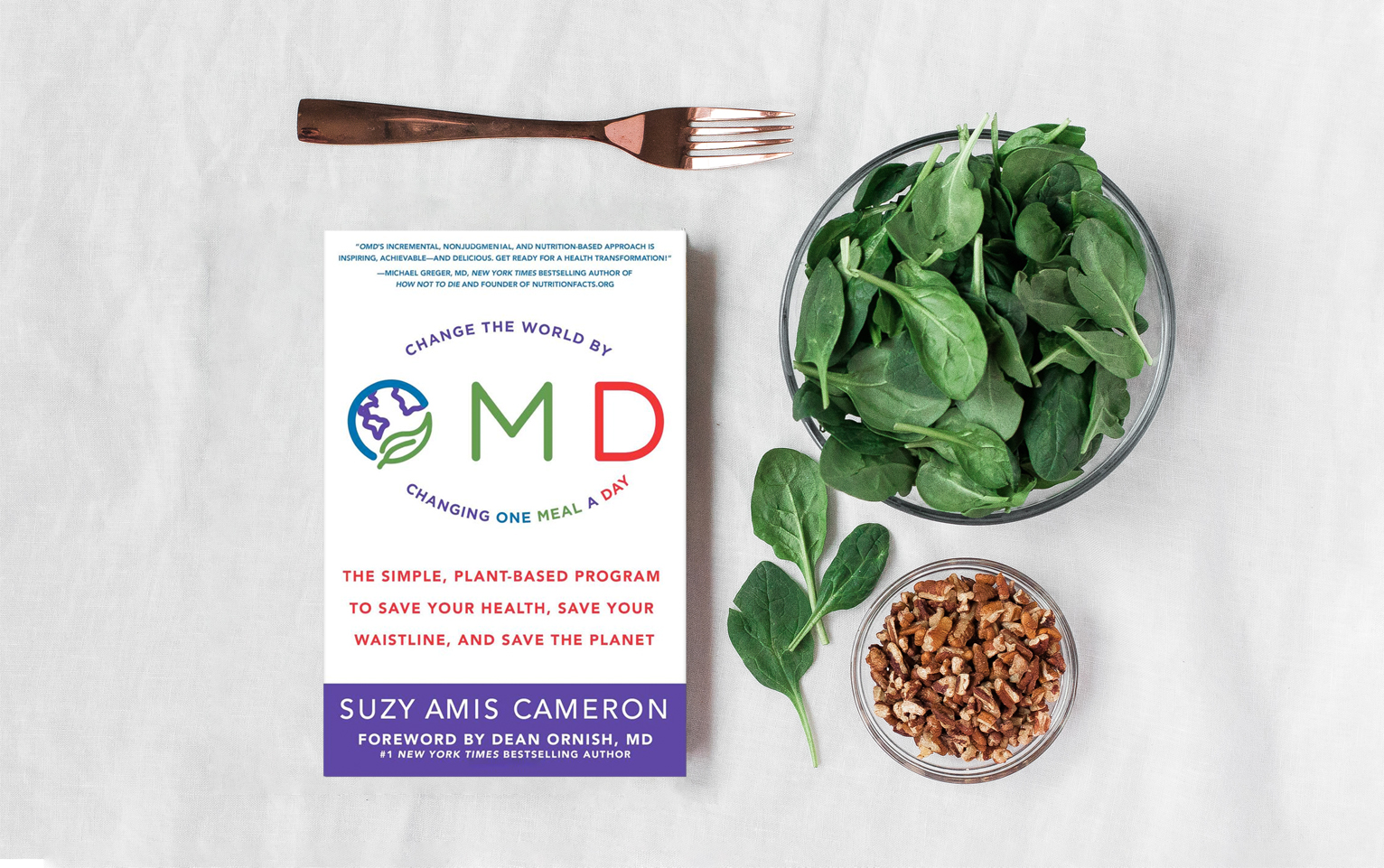 OMD BOOK: A guide to a healthy body, healthy planet.