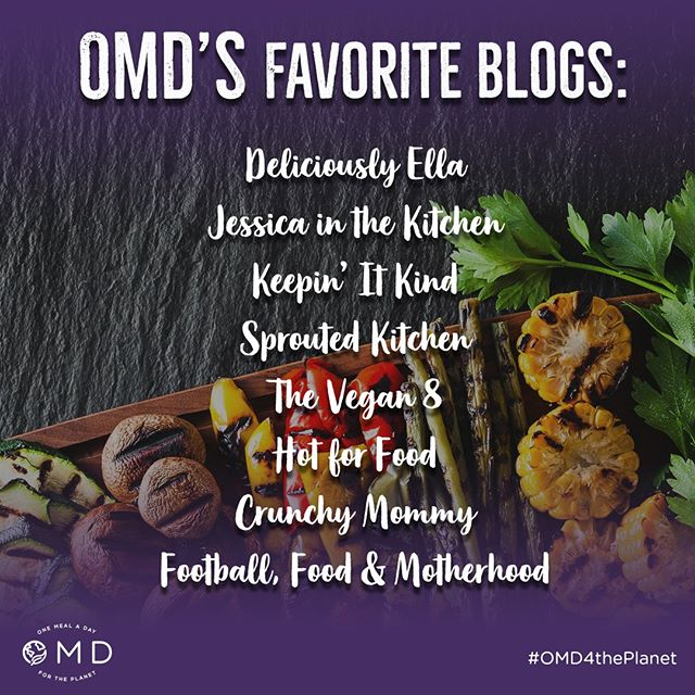 Bookmark! These blogs are some of our favorite sources of #plantbased inspo. Tag your go-tos below! @deliciouslyella @jessicainthekitchen @keepinitkind @sproutedkitchen @thevegan8 @hotforfood @crunchymommy @missstephanieb