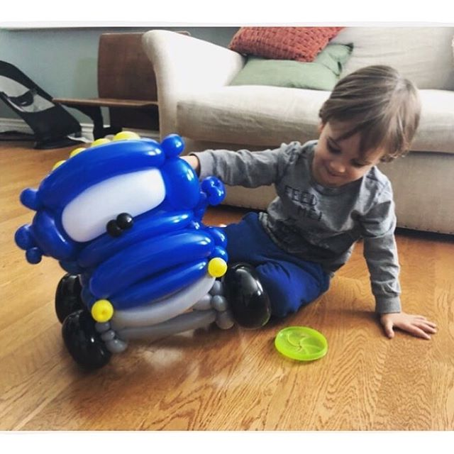 "⠀⠀⠀⠀⠀⠀⠀⠀⠀⠀⠀⠀⠀⠀ ""Just so you know, he came inside and demanded to call his grandparents to show off his monster truck and now he is cradling it like a baby watching a monster truck show. You seriously made this kid's whole week! Thanks so much again, that was so thoughtful and nice of you! Hope we see you soon!!"" —Cortnee C. ⠀⠀⠀⠀⠀⠀⠀⠀⠀⠀⠀⠀⠀⠀ Just a little Monster Truck surprise 😄 ⠀⠀⠀⠀⠀⠀⠀⠀⠀⠀⠀⠀⠀⠀ ___ balloonworkz.com"