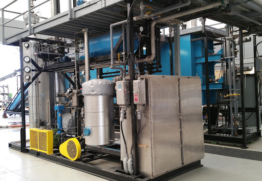 Micro Fischer Tropsch Plant to convert syngas produced from dairy manure pyrolysis to liquids.