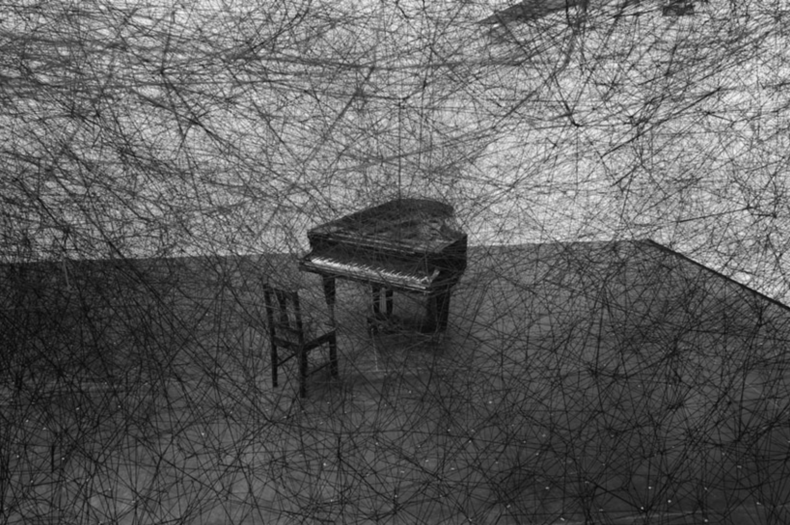 In Silence  2011 Chiharu Shiota. Curated by Oliver Varenne