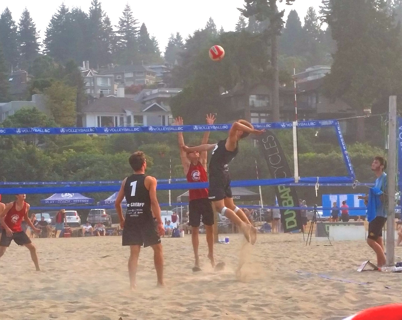 Hawks Beach Volleyball Vancouver, BC - High Five