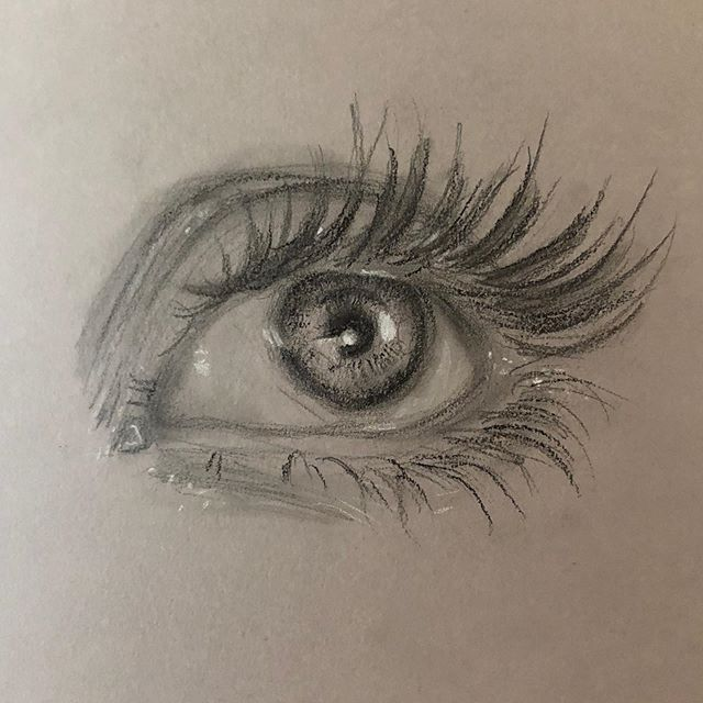 Eye am terrible at coming up with captions #quicksketch #pun #graphite