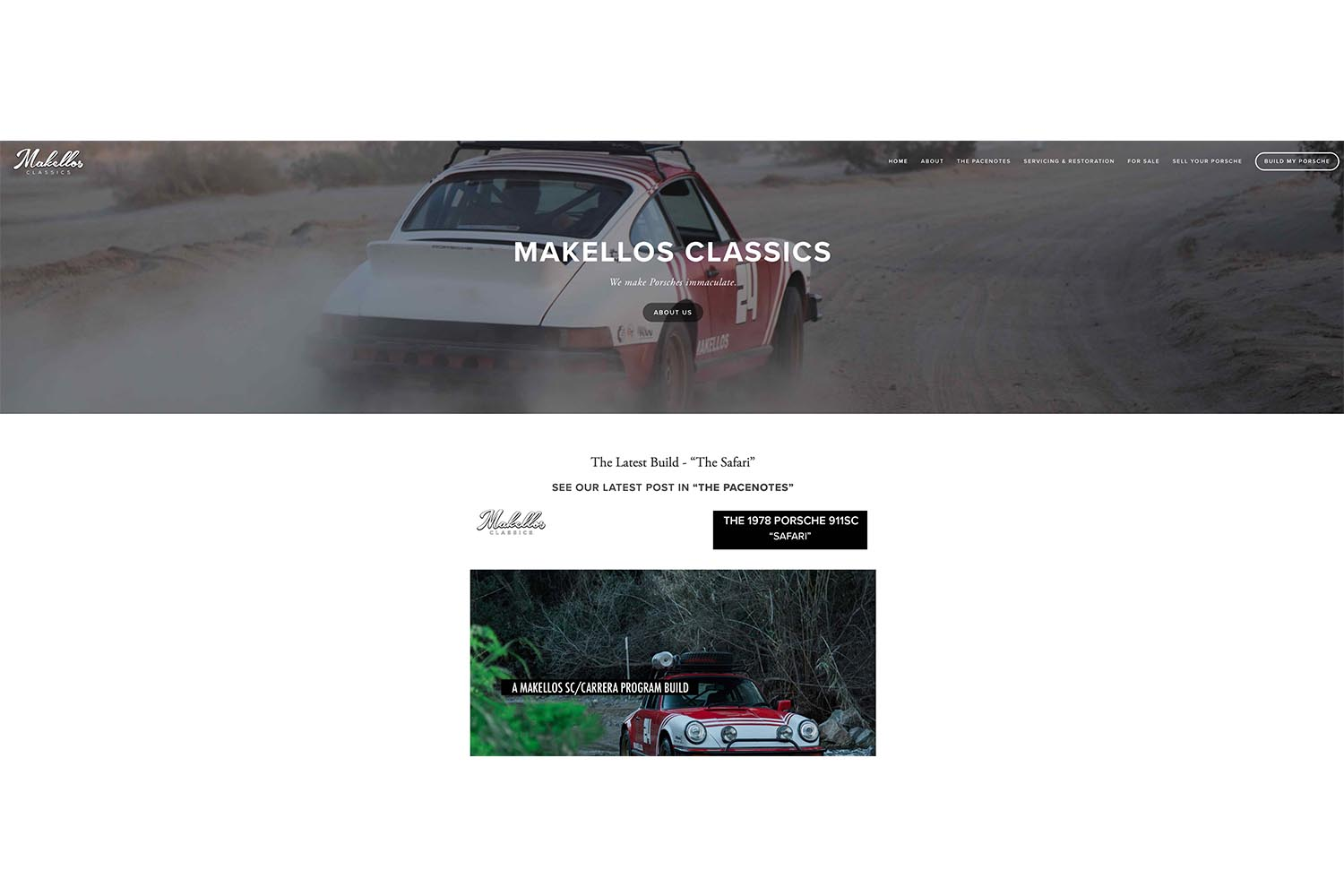 A New Homepage