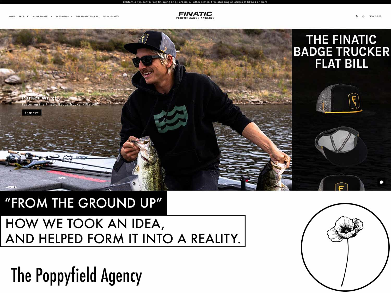 Client: Finatic - Yes, you can teach a man to fish and he'll eat for a lifetime— but teach a company to build and execute strategies, and they will sell through inventory like hot cakes—and feed everyone. Here's how we helped fishermen learn to switch out their rods for computers, their line for an intentionally built digital presence and their lures for quality content and copywriting.Core Services Used: AllIndustry: E-Commerce (Hard Goods, Fishing)