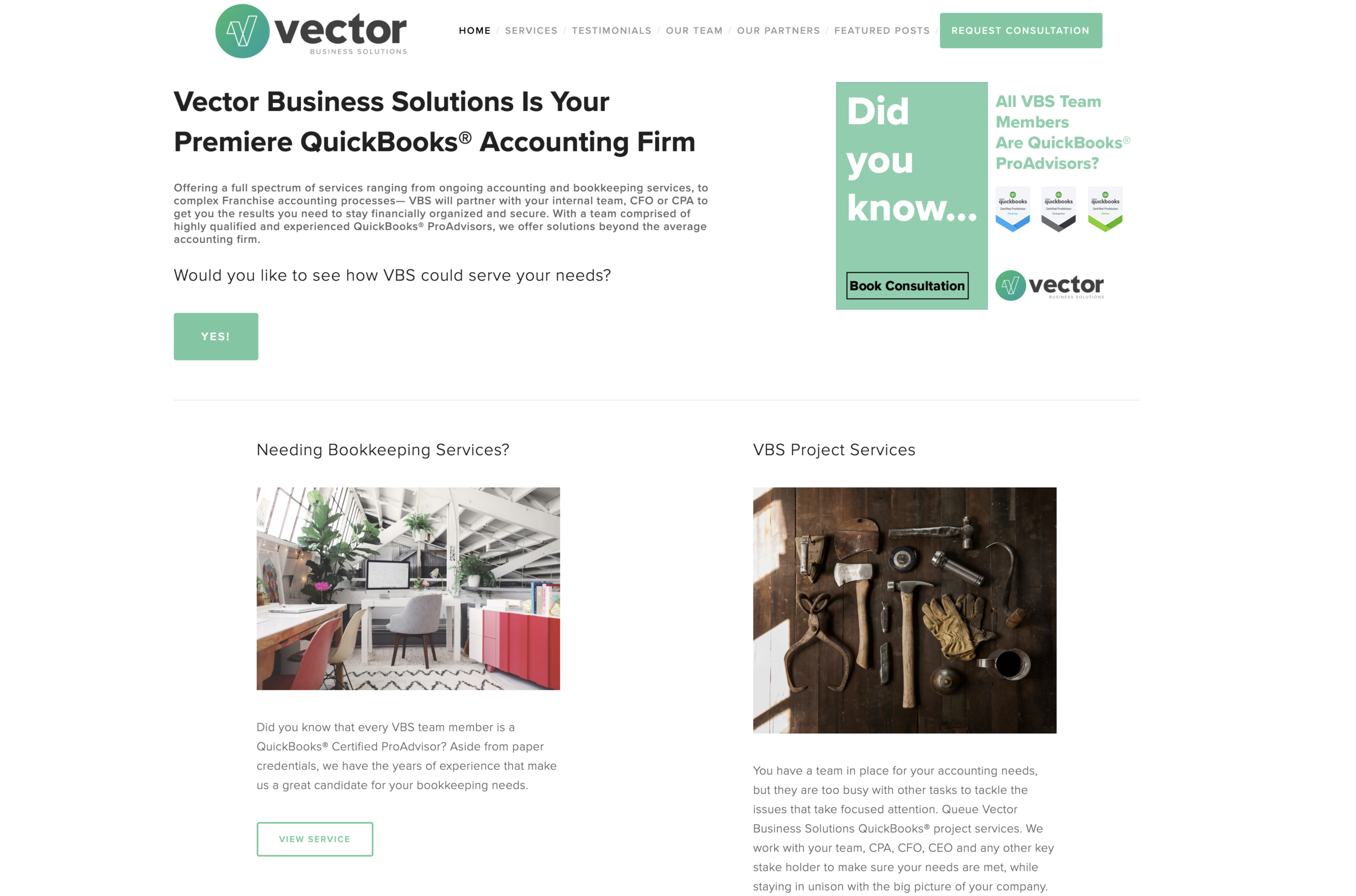 Client: Vector Business Solutions — The Poppyfield Agency