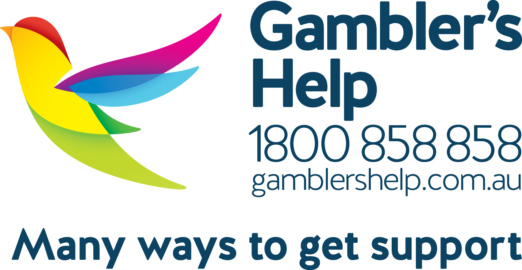 Gambler's Help - Phone 1800 858 858 for free support, 24/7