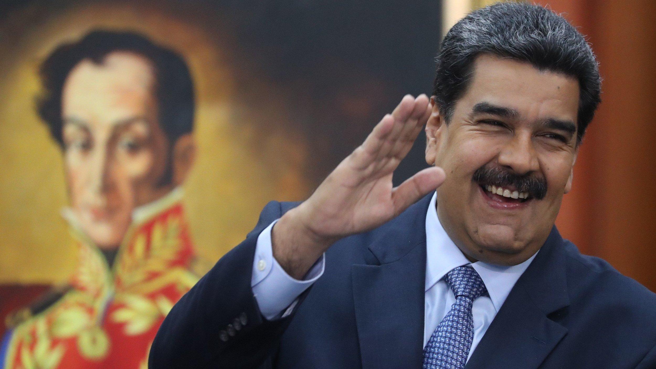 Nicolas Maduro. Credit Miguel Gutierrez