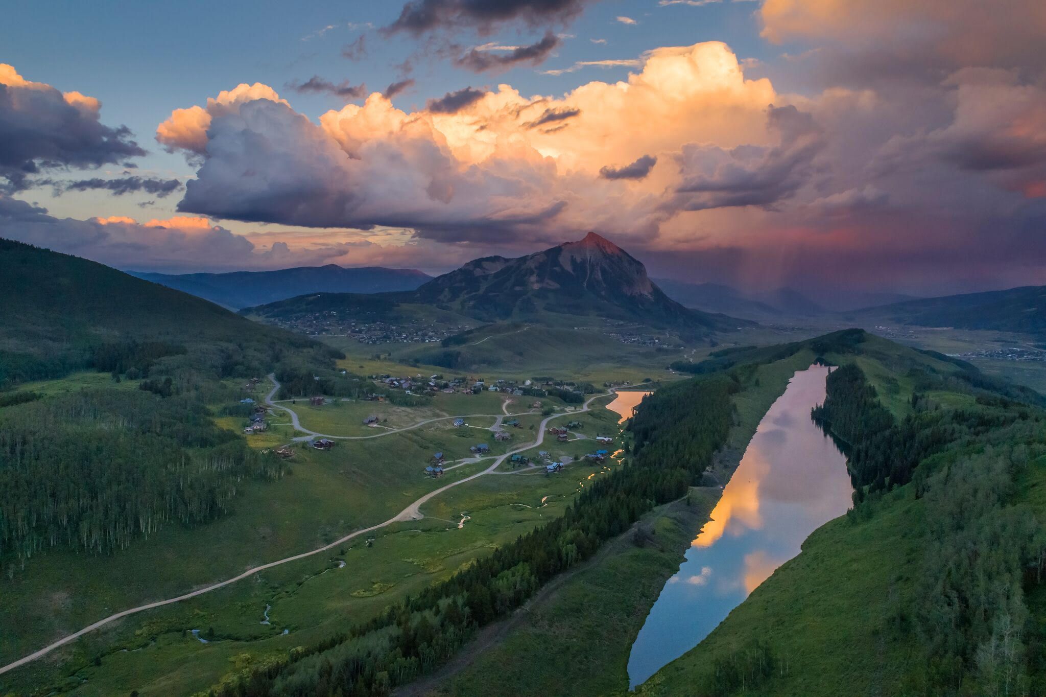 Long Lake; Photo by Dusty Demerson