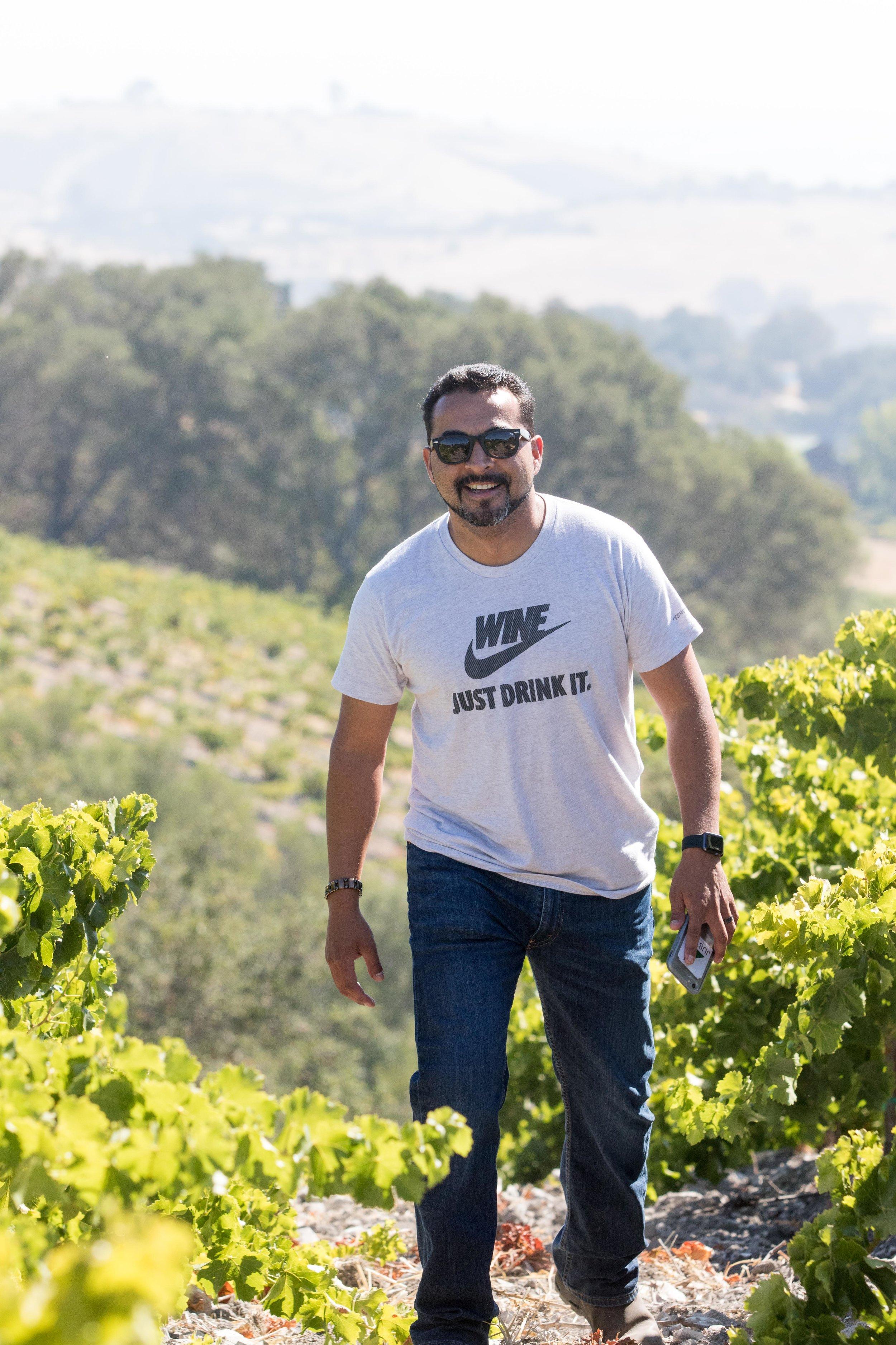 Winemaker Edgar Torres