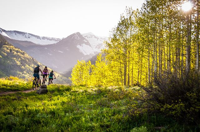 Just in case you find some downtime during the Fest, we wanted to show you some options for enjoying our special shire!  Crested Butte IS known as the birthplace of #mountainbiking after all.😉🚵 . . . #cbwineandfood #crestedbutte #cheers #wine #sparklingwine #celebrate #love #winetime #winelover #party #weekend #winetasting #vino #winelife #champagnelife #wineandfood #winestagram #foodandwine #winecountry #winenight #wineanddine #wineenthusiast #winepairing #ilovewine #ridecrestedbutte #rideintothesunset #summerintherockies #whattodoincrestedbutte #visitcrestedbutte